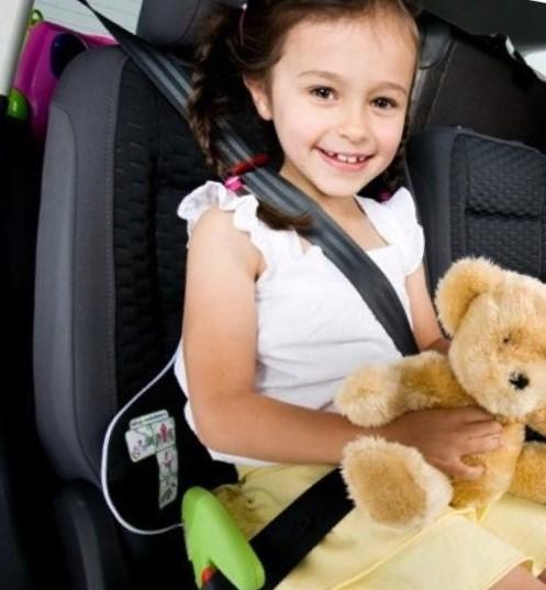 Безопасность в автомобиле ребенка