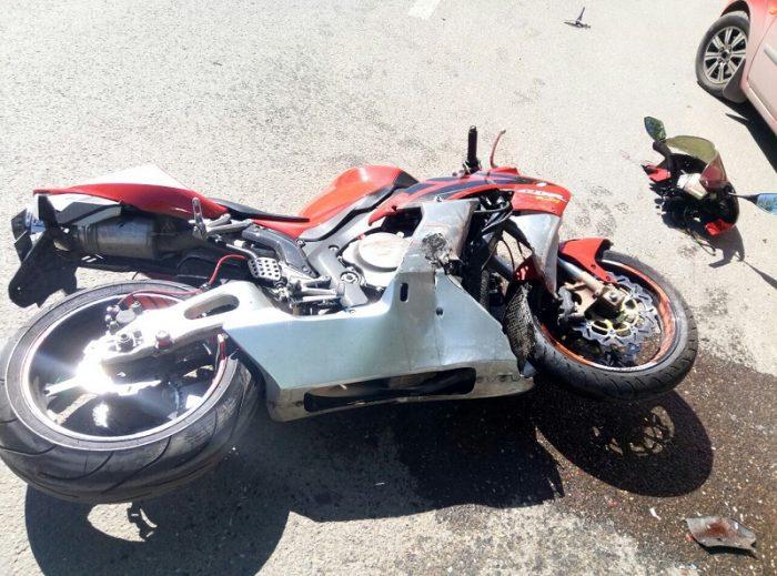 Мотоцикл сломан